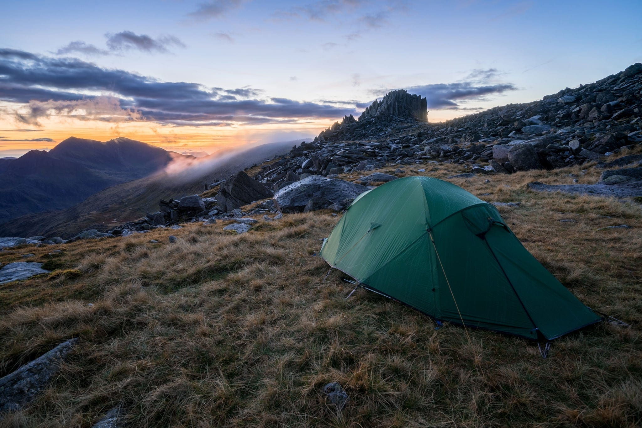 Glyder Fach Wild Camp - Snowdonia Wild Camping Photography Workshop
