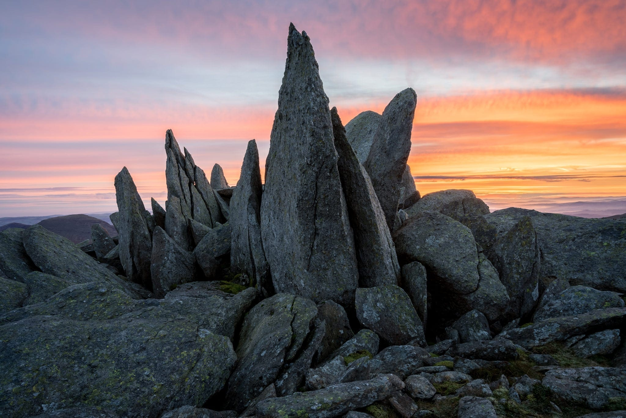 Glyder Fach Sunrise - Snowdonia Wild Camping Photography Workshop