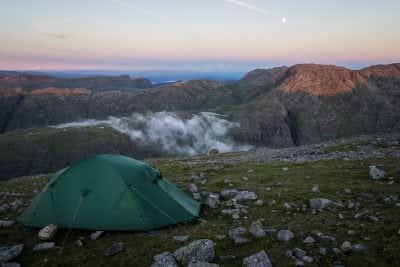 Great Gable Wild Camp - Wild Camping Photography