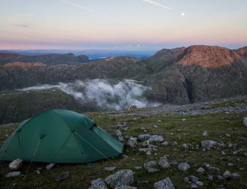 Great Gable Wild Camp And Inversion