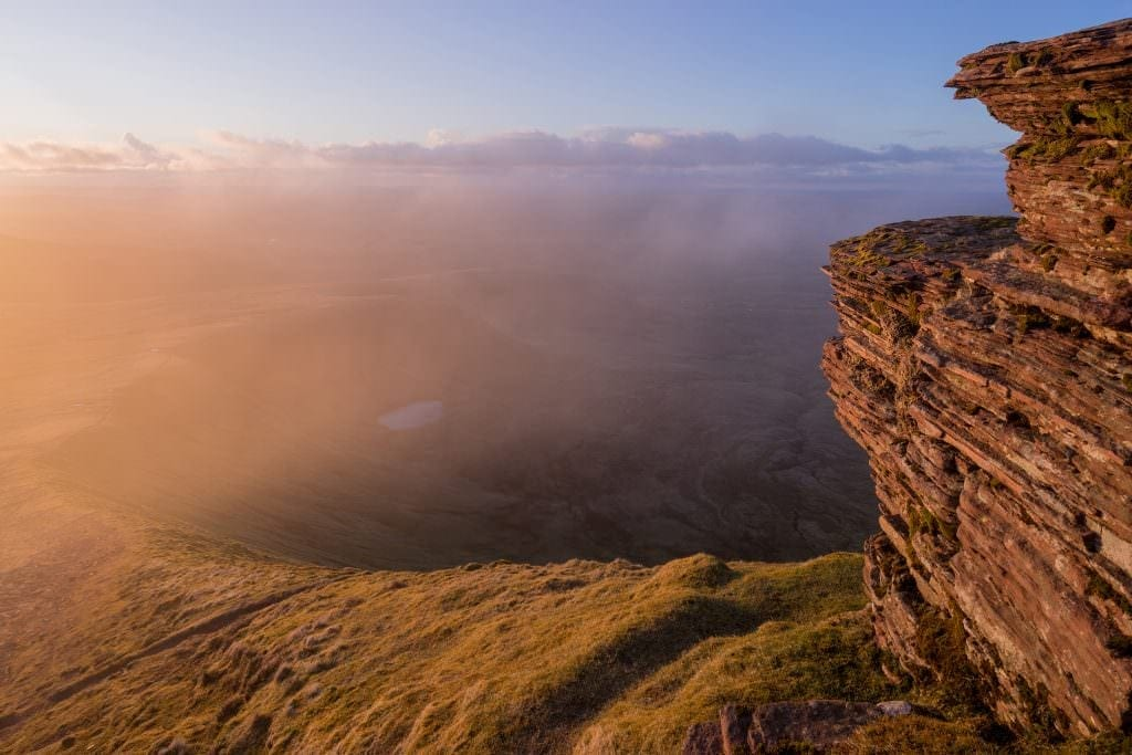 Corn Ddu Sunset - Pen Y Fan - Brecon Beacons Photography