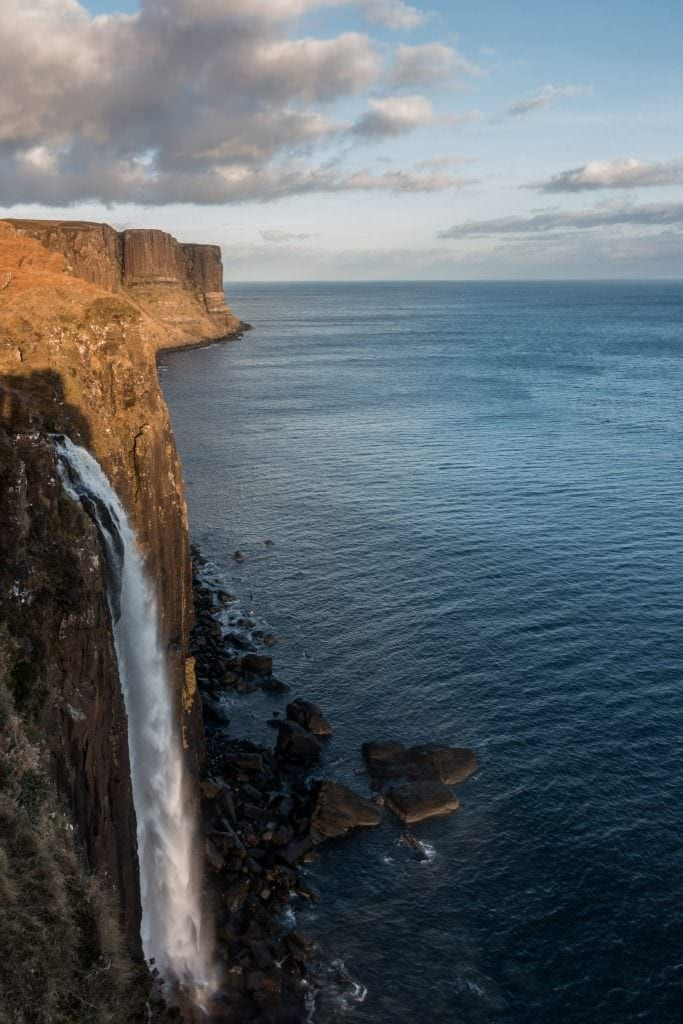 Kilt Rock Waterfall - Isle of Skye - Scotland Photography Workshops
