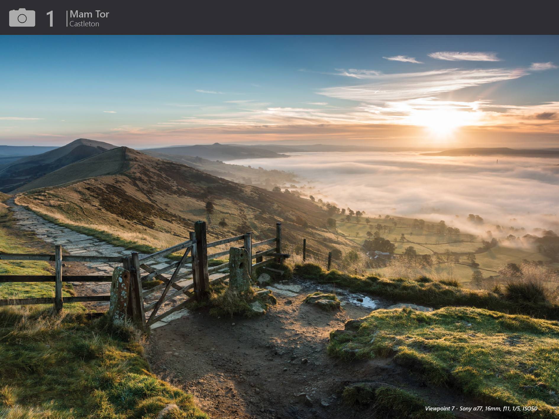 Peak District Through The Lens Mam Tor Introduction