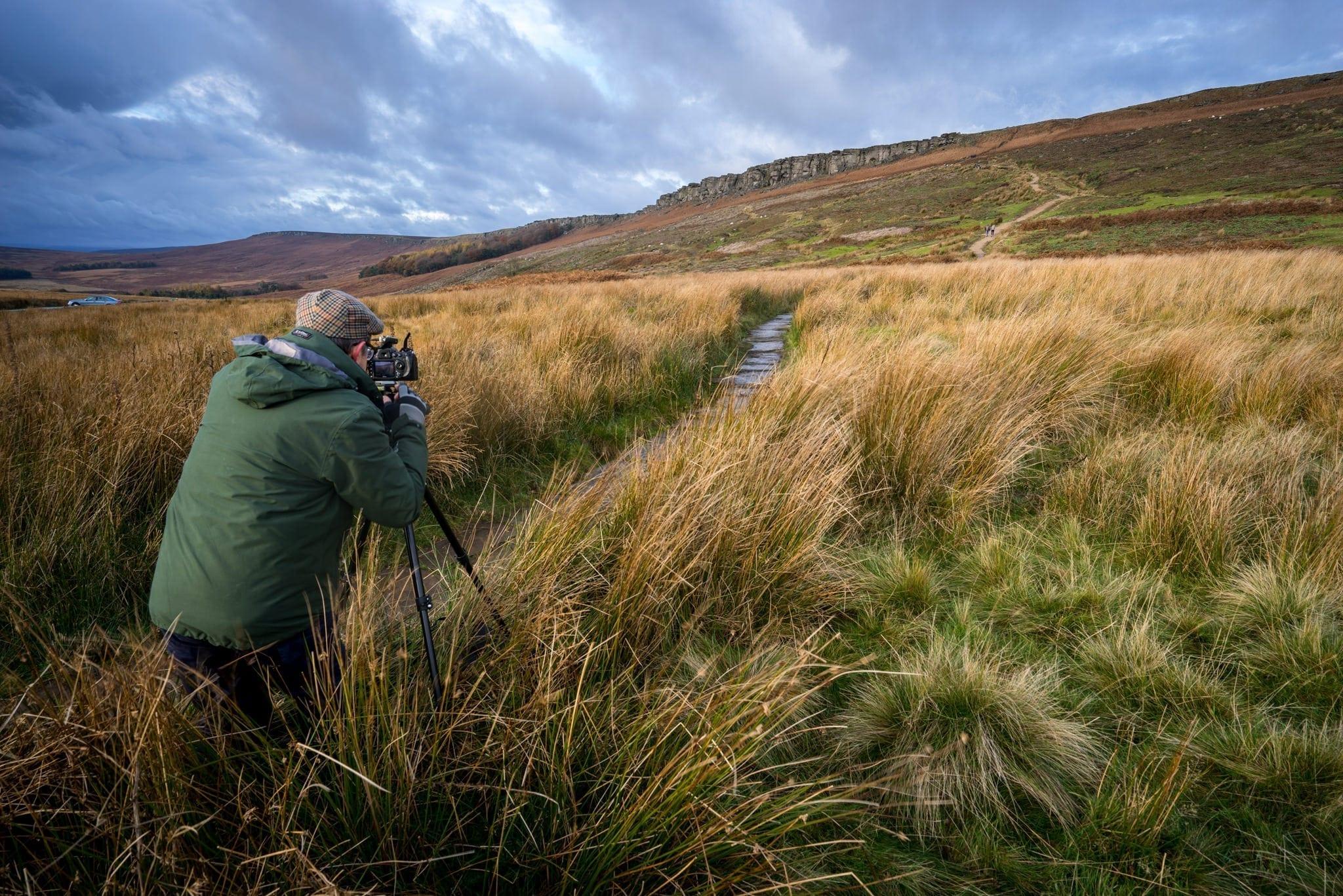 Peak District Photography Workshop - Hooks Car - Stanage Edge