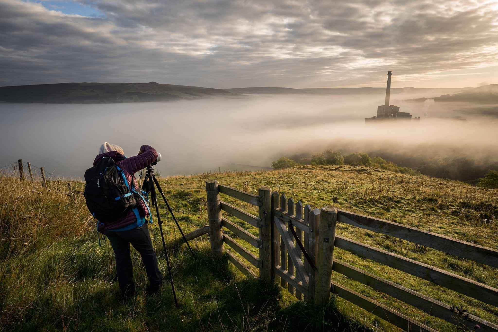 Peak District Photography Workshop - Hope Cement Works
