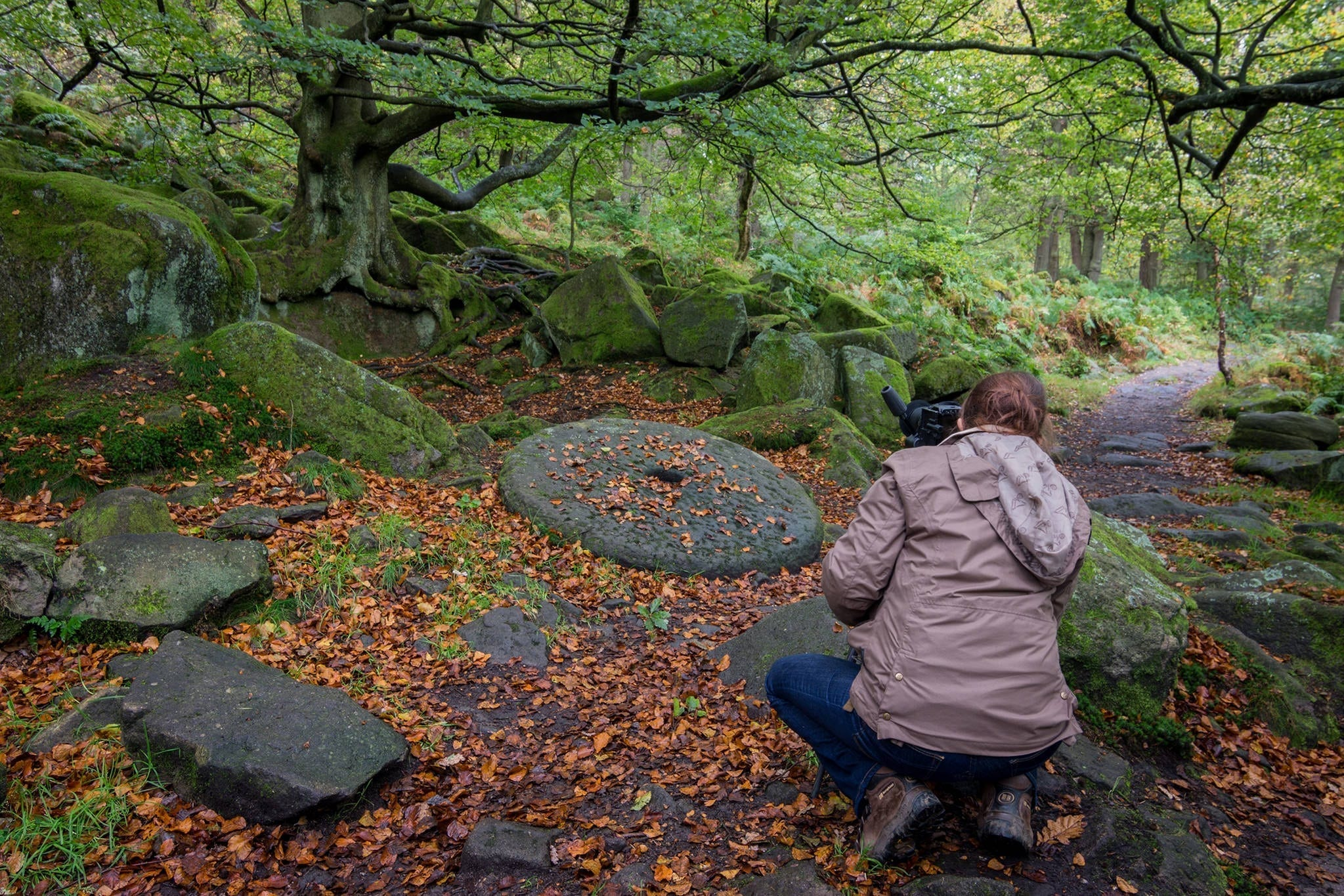 Peak District Photography Workshop - Padley Gorge
