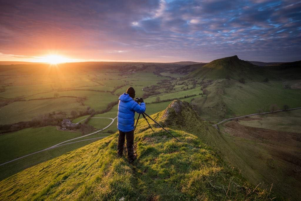 Parkhouse Hill Photography Workshop Sunset