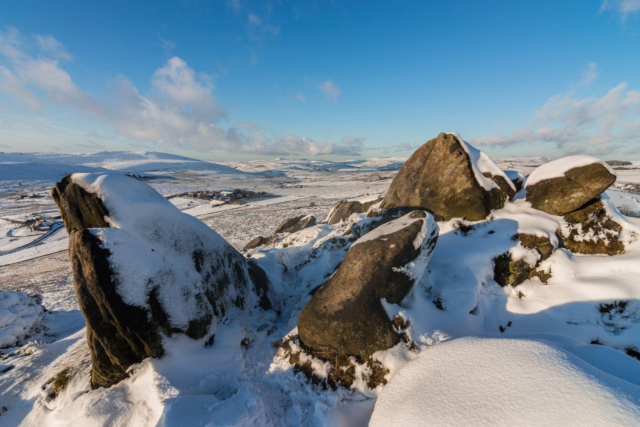 Ramshaw Rocks Winter - Winter in the Peak District Photography Workshop