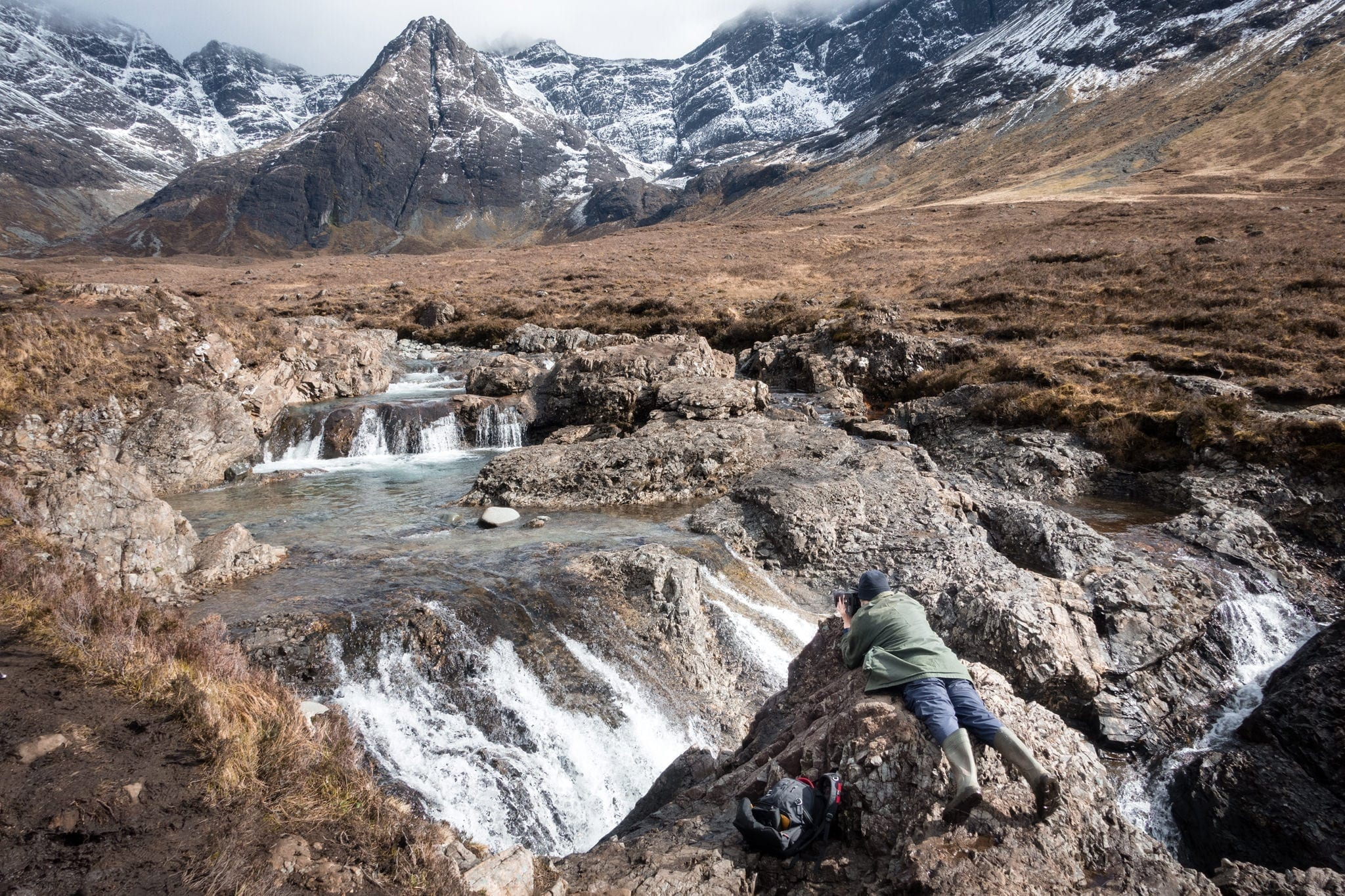 Ronald Fairy Pools - Isle of Skye Photography Workshop