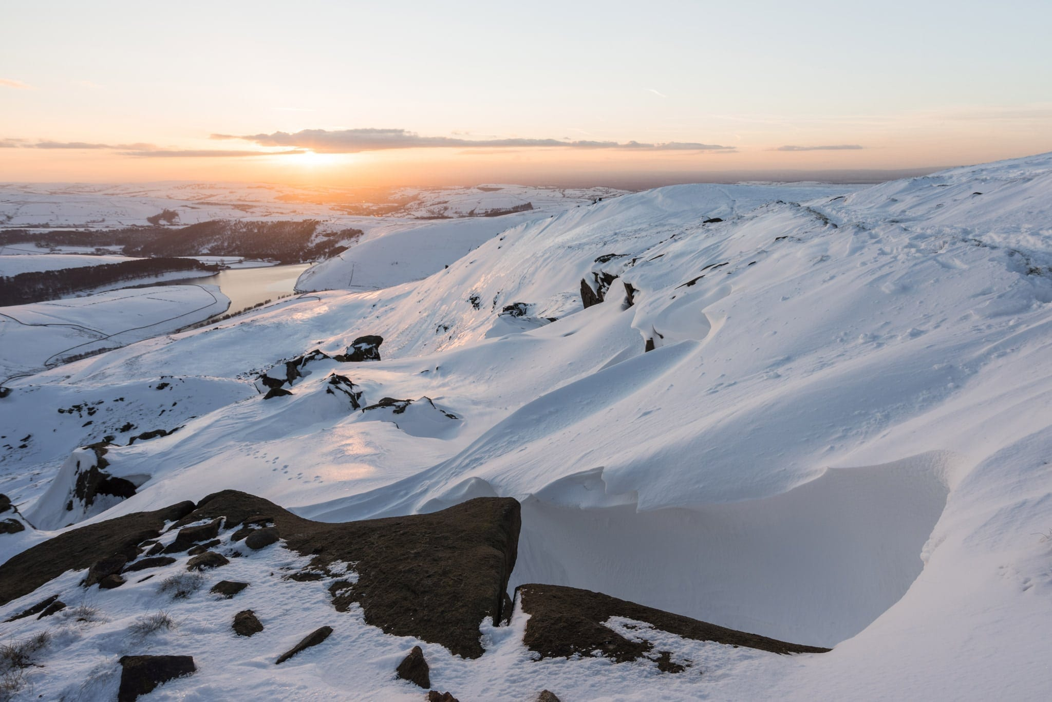 Sandy Heys Winter - Kinder Scout Sunrise to Sunset Workshop