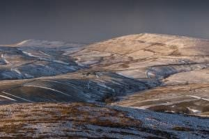 Shutlingsloe Snow Storms - Landscape Photography