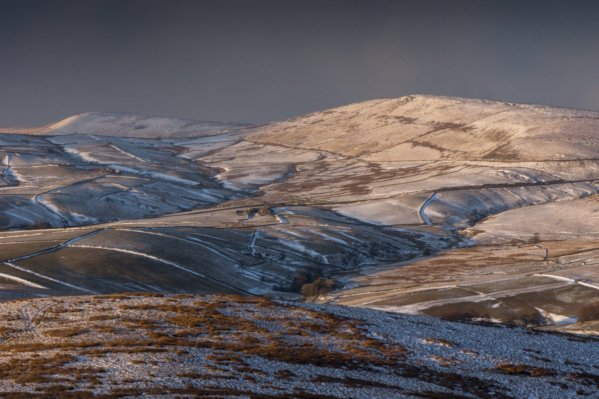 Shutlingsloe Storms - Photographing the Peak District in Winter Photography Workshop
