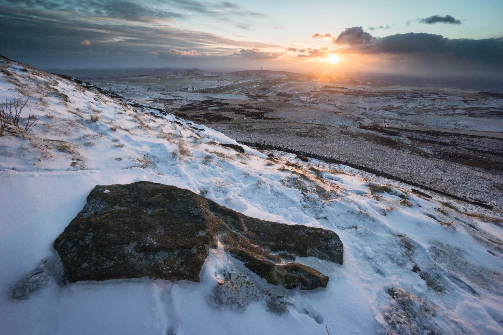 Shutlingsloe Sunset - Rugged South-West Peak Photography Workshop