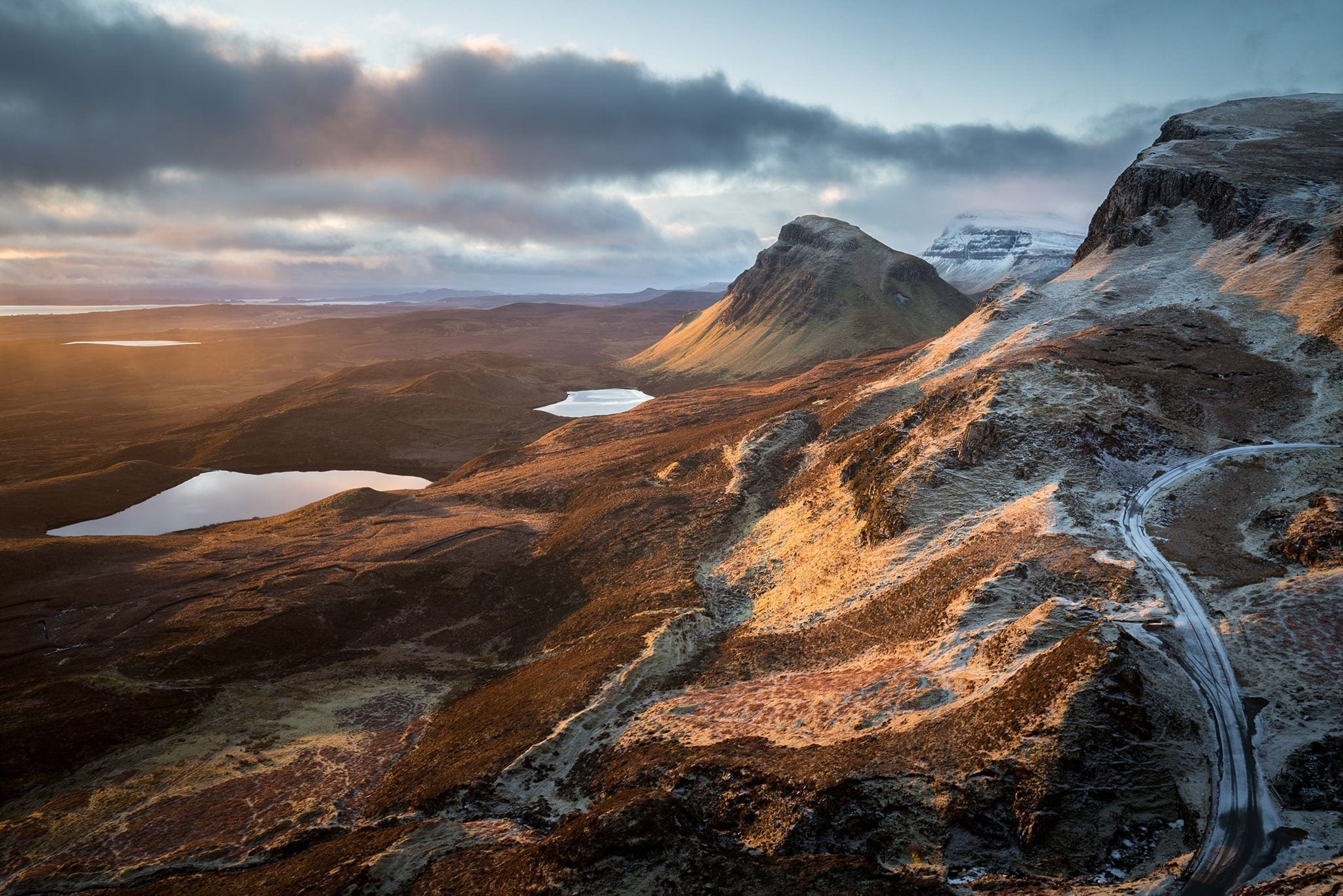 The Quiraing Winter Sunrise - Isle of Skye Photography Workshops