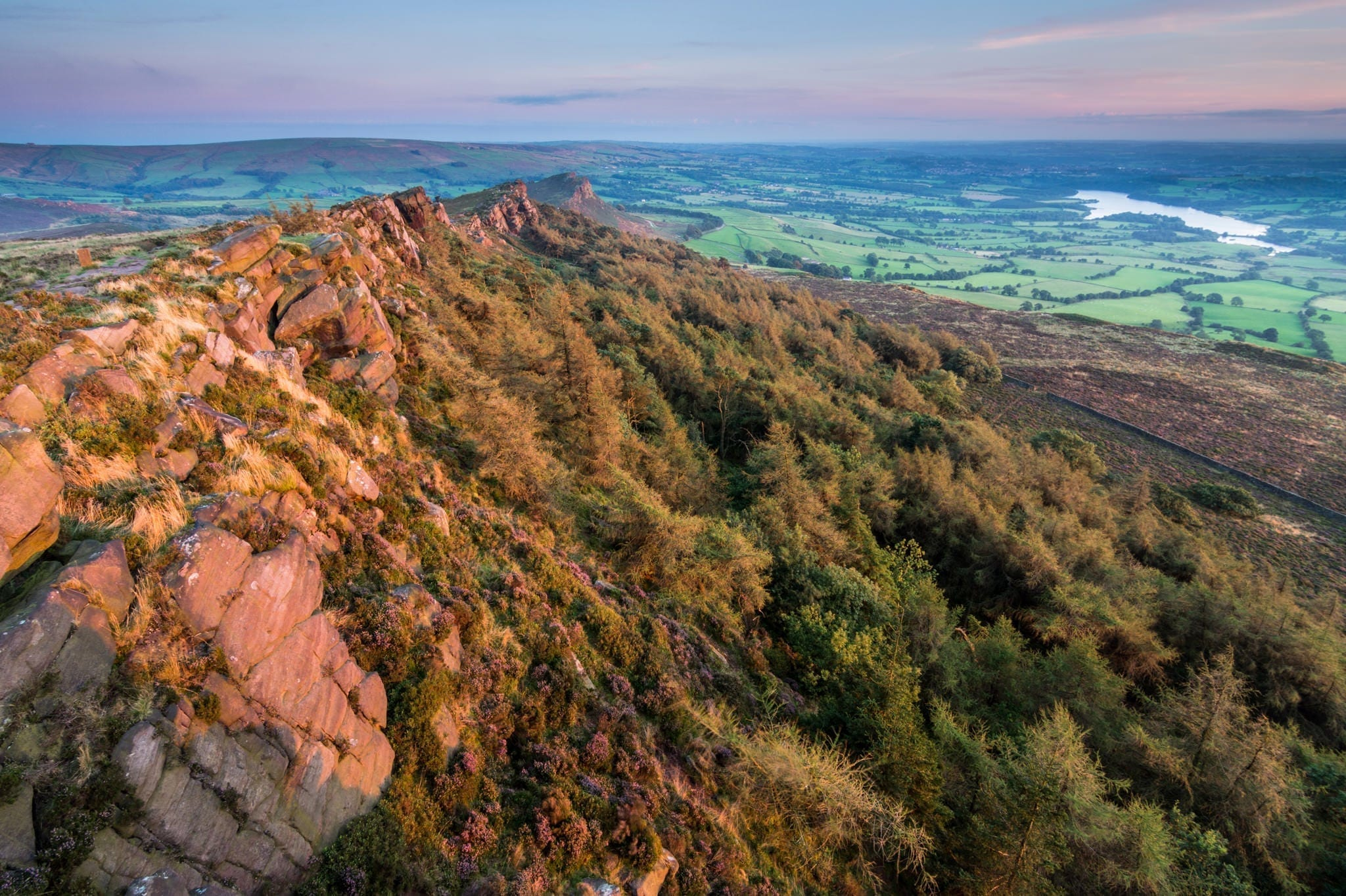 The Roaches Sunset - Rugged South-West Peak Photography Workshop