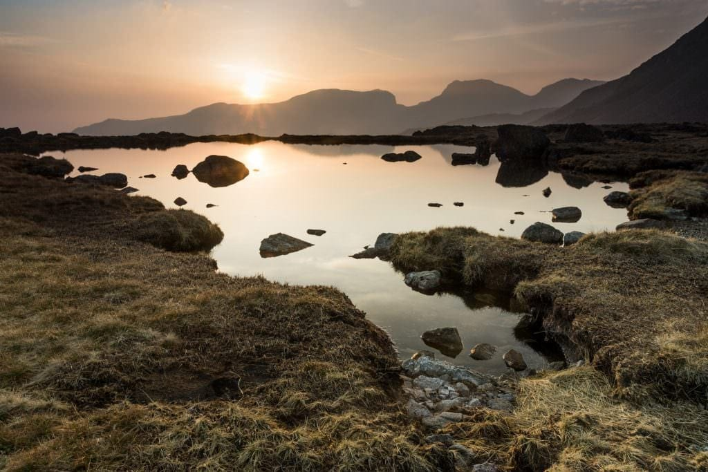 Three Tarns Sunset - Lake District Photography Workshops