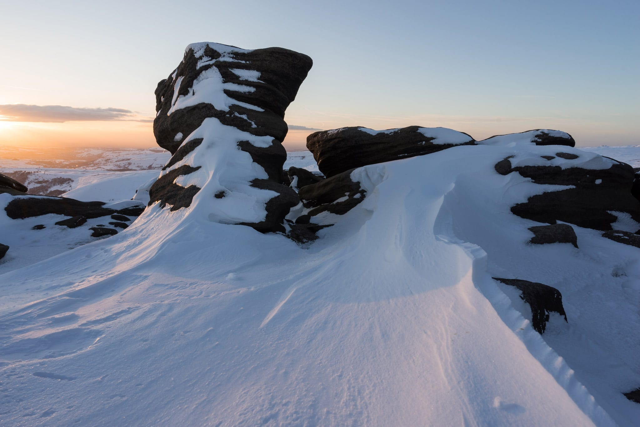 Sandy Heys Sunset - Kinder Scout Sunrise to Sunset Workshop