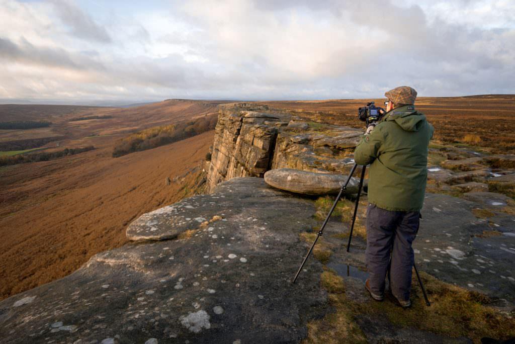 Stanage Edge Autumn Peak District Photography Workshop