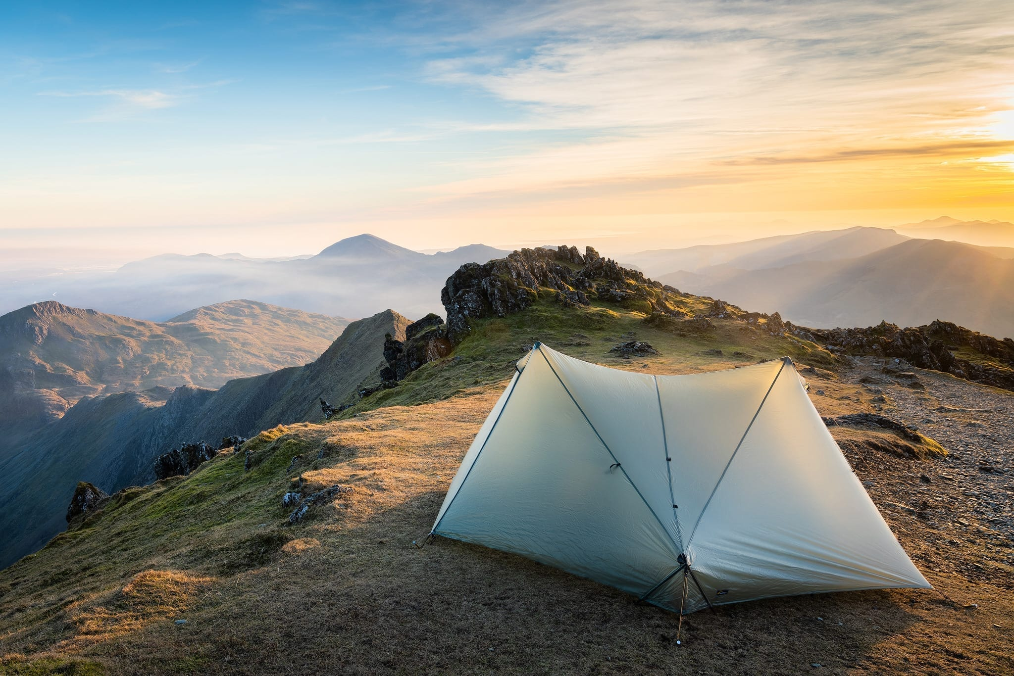 Snowdon Sunset - Snowdonia Wild Camping Photography Workshop