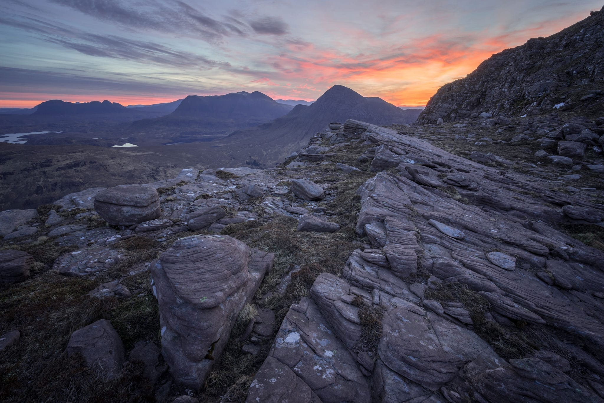 Sgorr Tuath Dawn - Scotland Wild Camping Photography Workshop