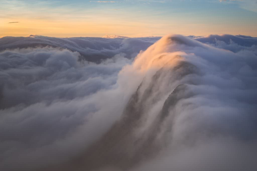 Suilven Sunrise Inversion Capped - Scotland Photography
