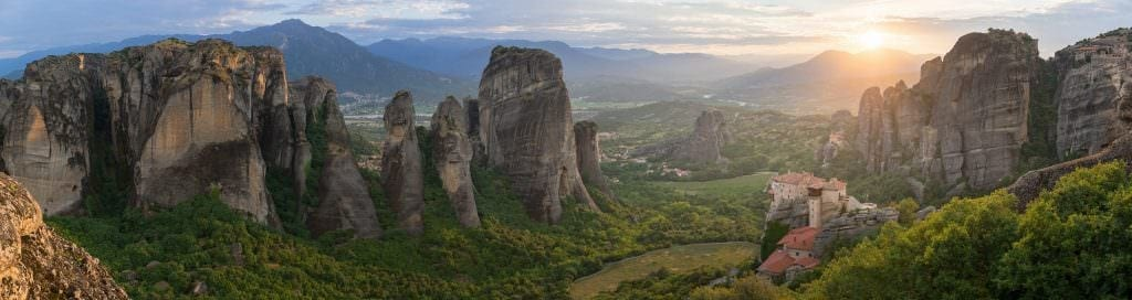 Meteora Sunset - Greece Photography