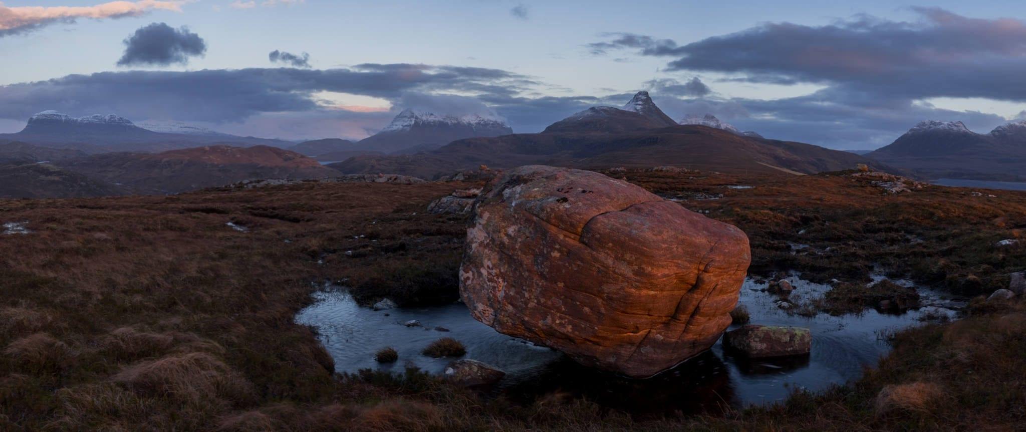 Torrodonian Sandstone - Scotland Wild Camping Photography Workshop
