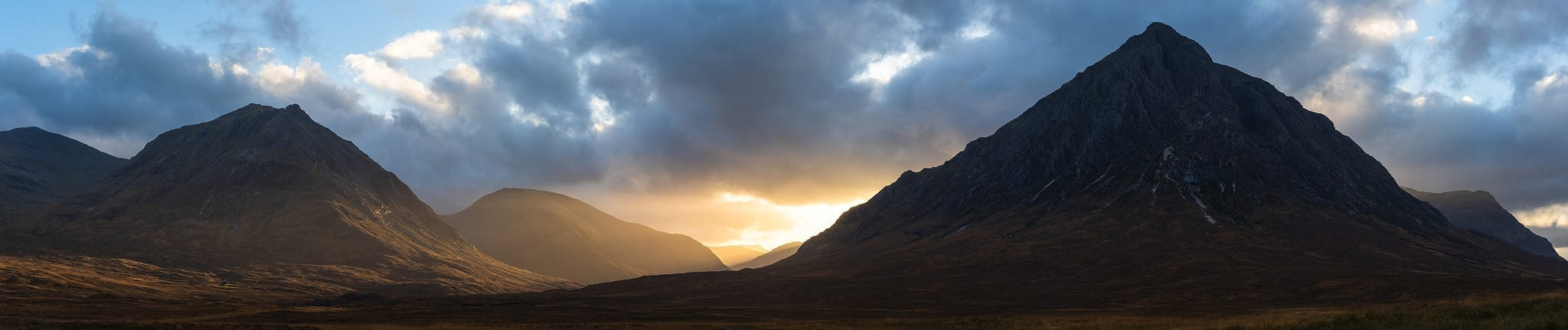 Glencoe Sunset - Scotland Landscape Photography