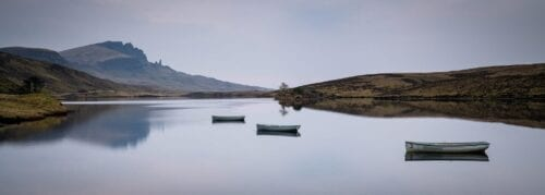 Loch Fada Reflections - Isle of Skye Scotland Landscape Photogra