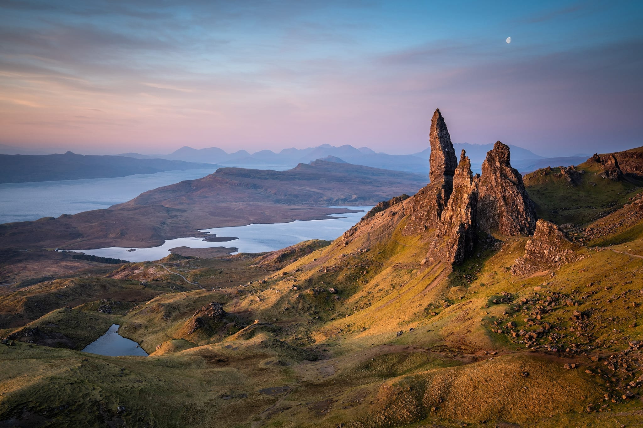 Old Man of Storr Sunrise April - Isle of Skye Landscape Photography Workshop Tour