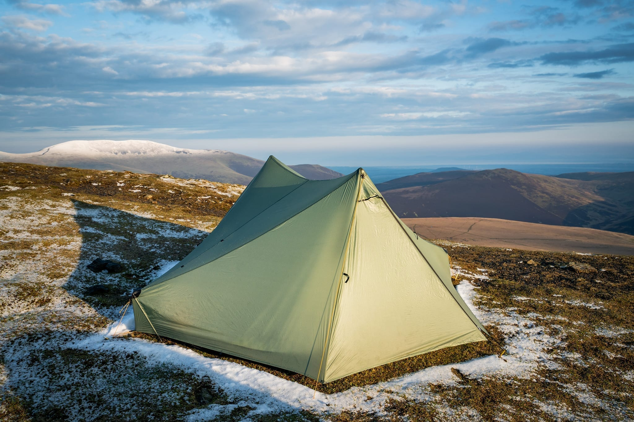 Tareptent StratoSpire 2 on Blencathra - Lake District Wild Camping Photography Workshop