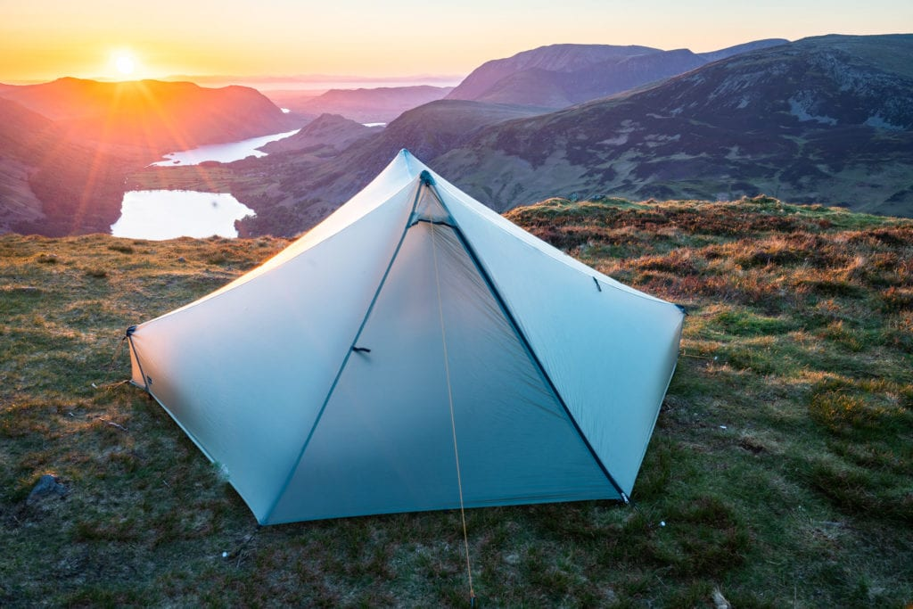 Tarptent Stratospire 2 on Fleetwith Pike – Lake District Wild Camping Photography Workshop