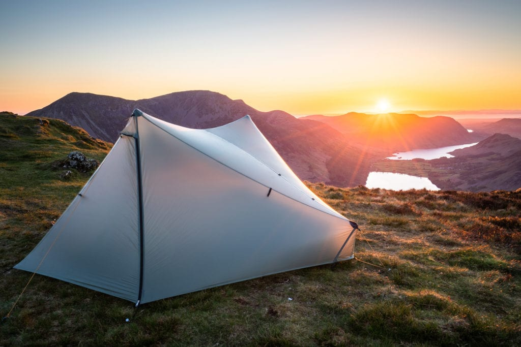 Tarptent Stratospire 2 on Fleetwith Pike – Lake District Wild Camping Photography