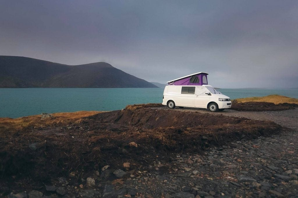 Isle of Harris Campervan Spot - Wild Camping Isle of Harris