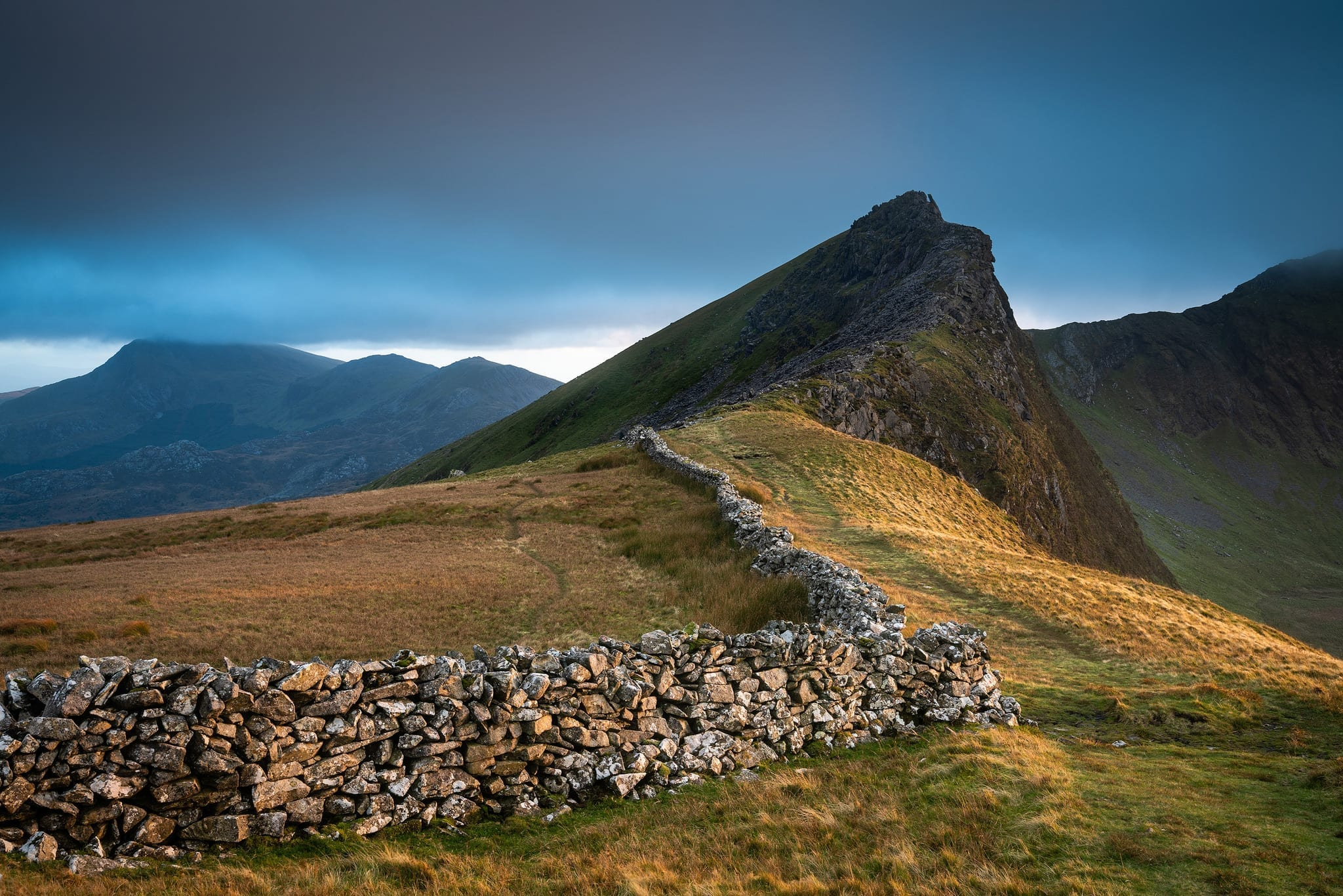 Nantlle Ridge Sunset - Snowdonia Landscape Photography