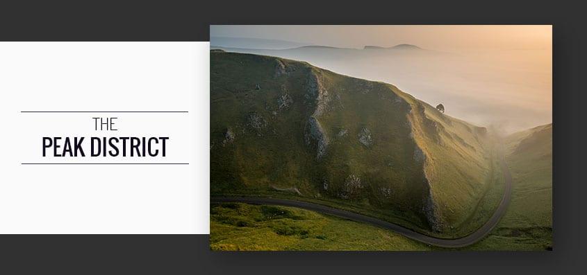 Winnats Pass Sunrise Peak District Photography Workshop