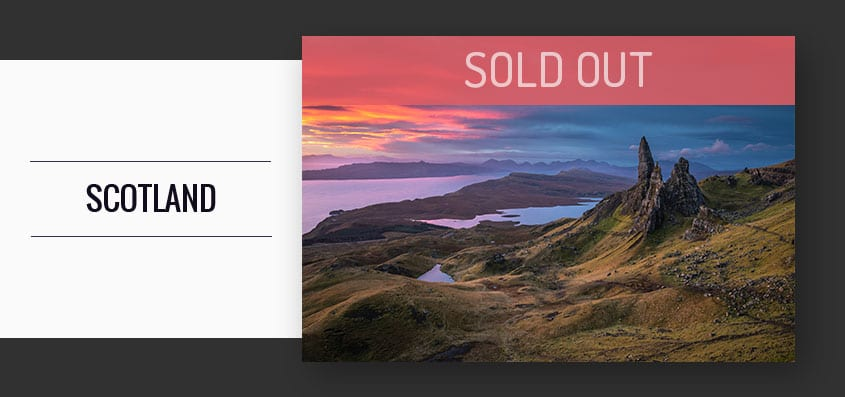 Isle of Skye Photography Workshop Tour October 2020