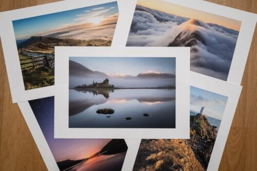 Fine Art Giclee Prints for Peak District Scotland Snowdonia and the Lake District