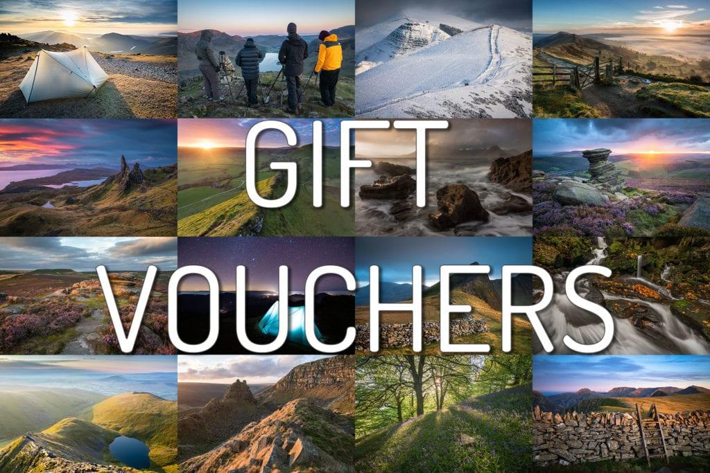 Landscape Photography Workshop Gift Vouchers