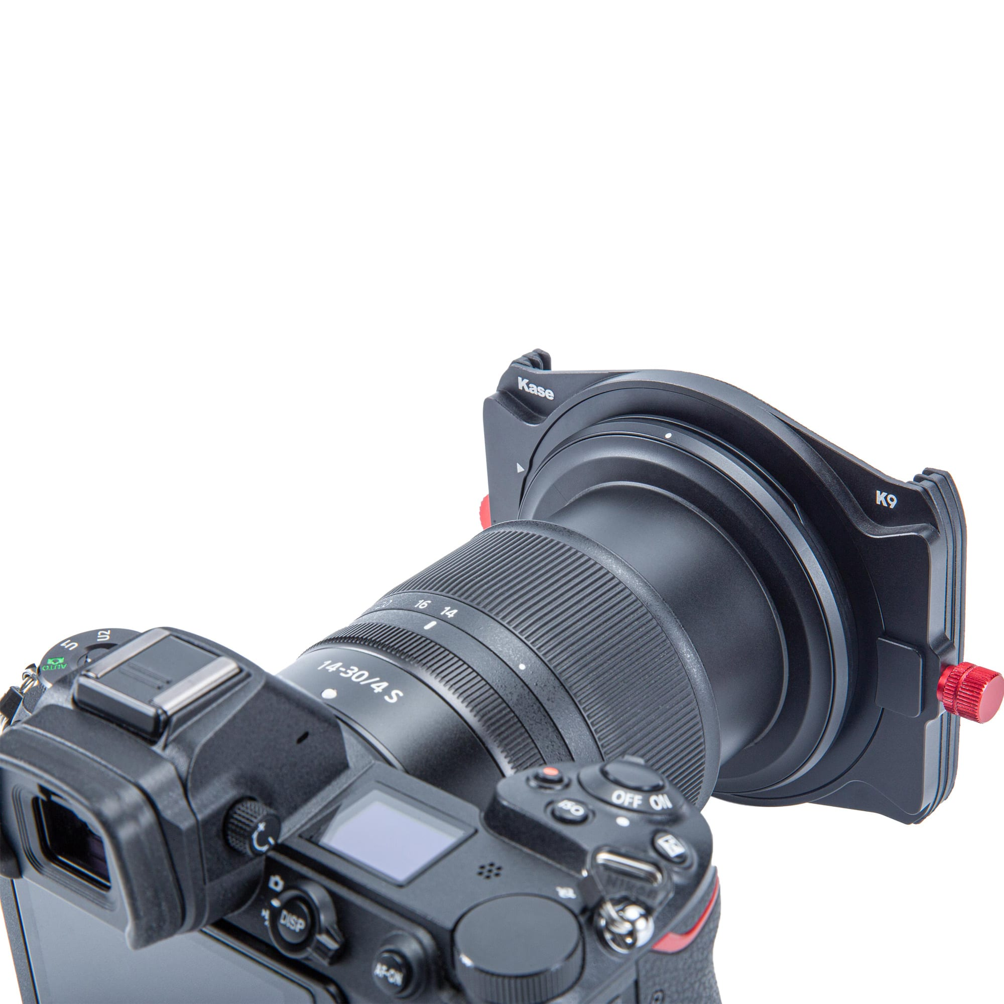 Kase K9 100mm Filter Holder On Camera