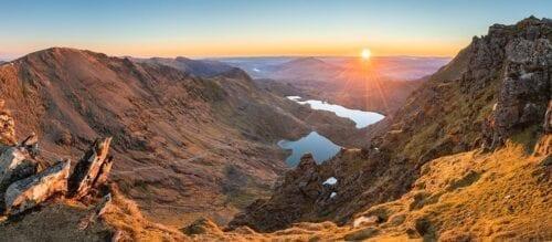Snowdon Panoramic Print
