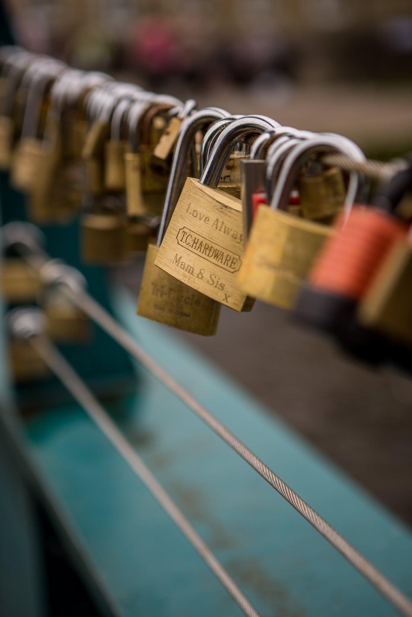 Bakewell Love Locks- Peak District Photography