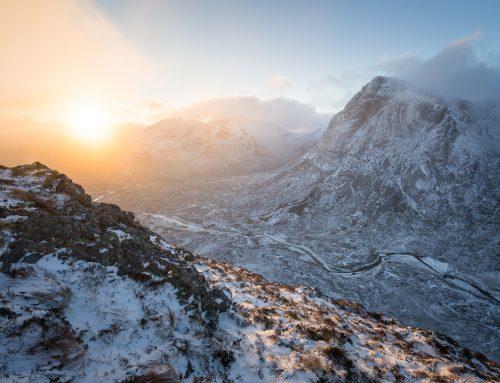 Beinn A 'Chrulaiste Sunrise