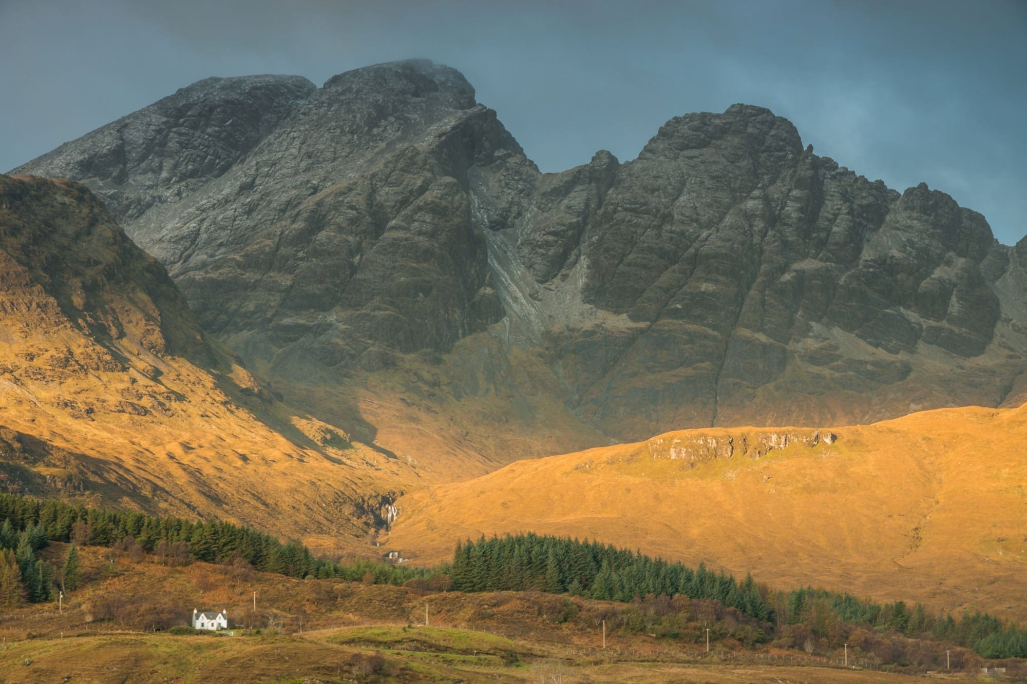 Bla Bheinn aka Blaven Sunrise - Scotland Photography