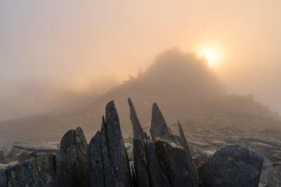 Castell y Gwynt Sunset - Landscape Photography
