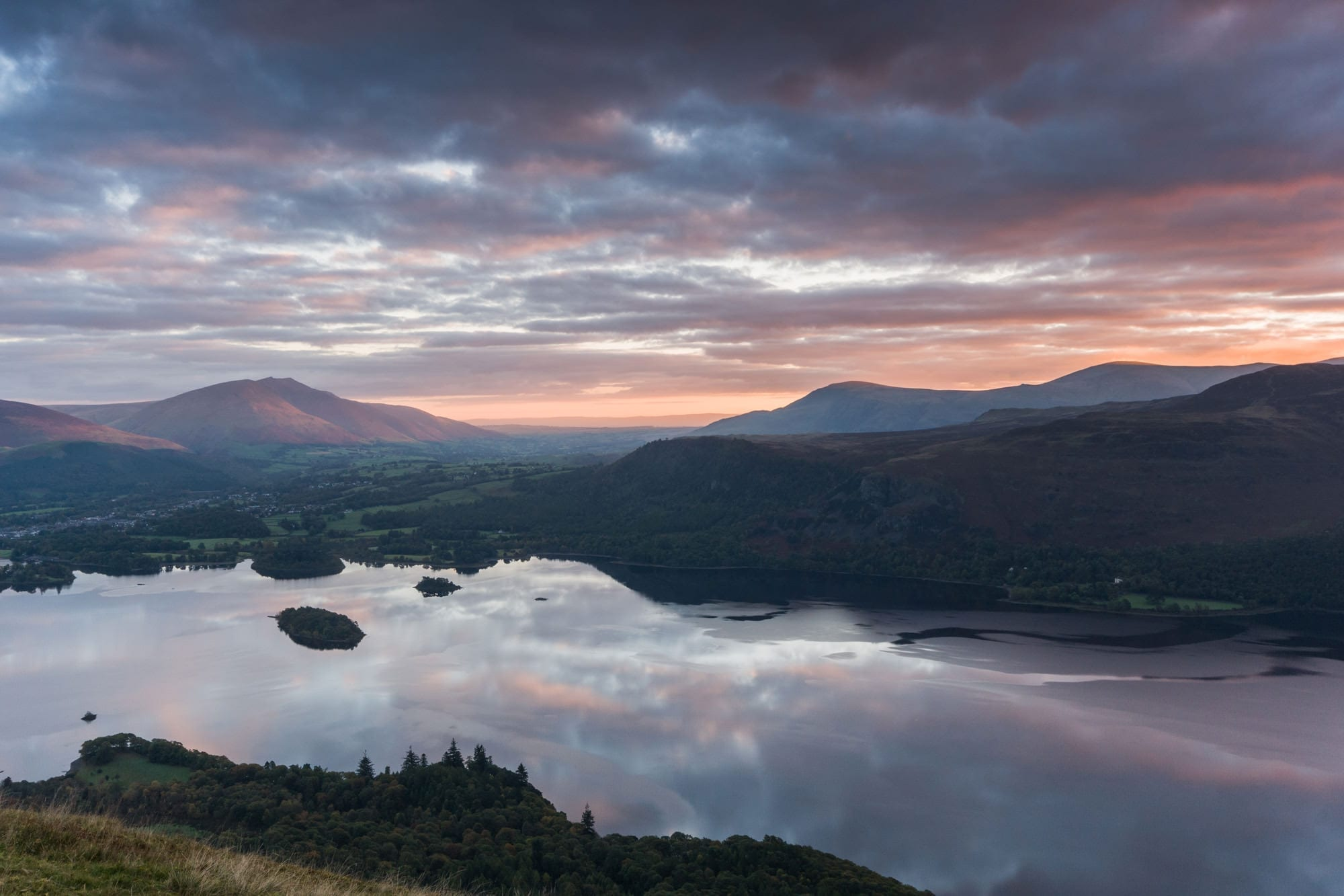 Catbells Sunrise Lake District Wild Camping Photography Workshop