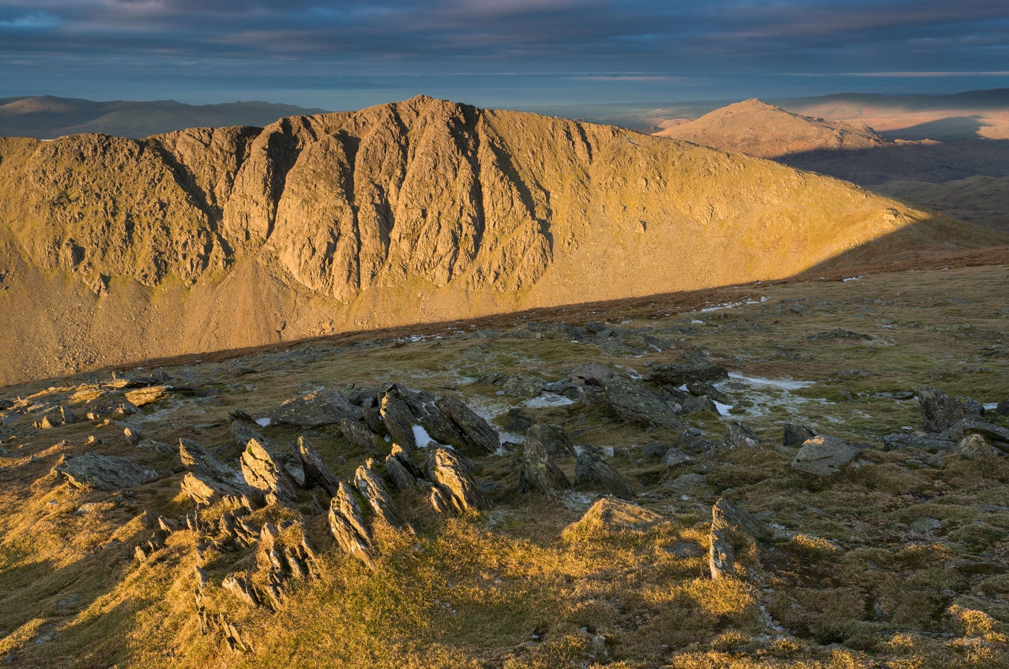 Dow Crag Sunrise - Lake District Photography