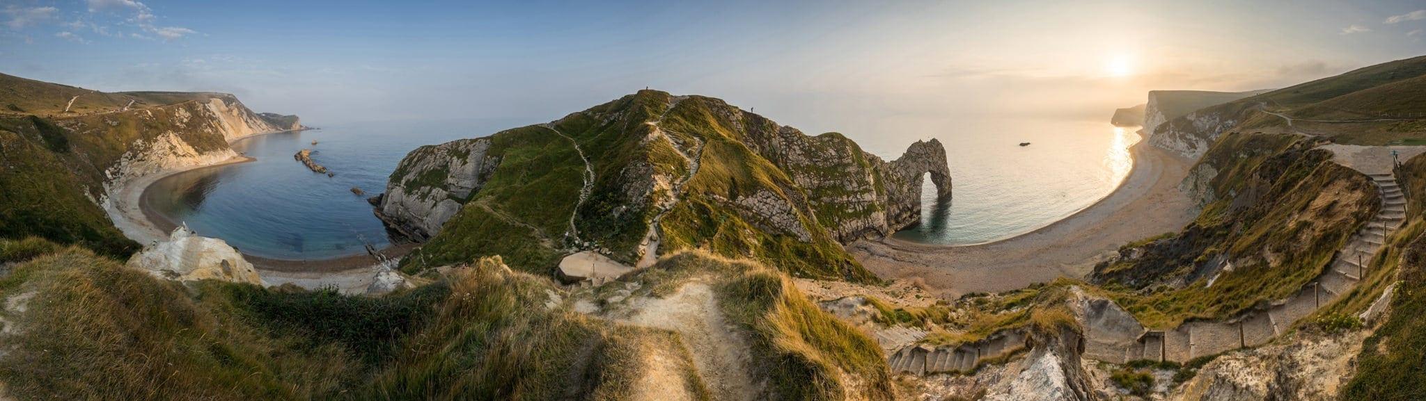 Durdle Door Panoramic - Dorset Photography