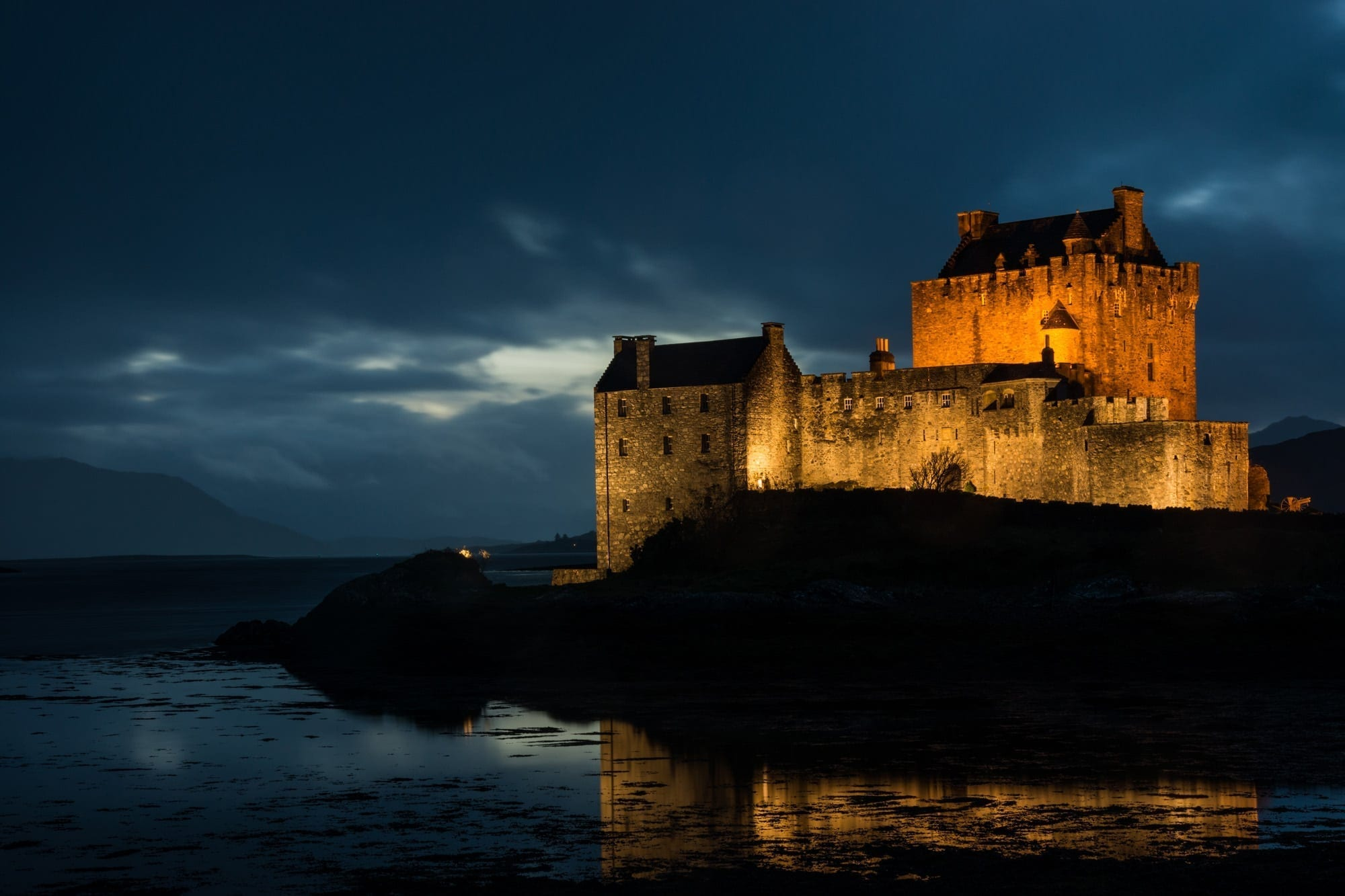 Eilean Donan Castle Dusk - Scotland Photography