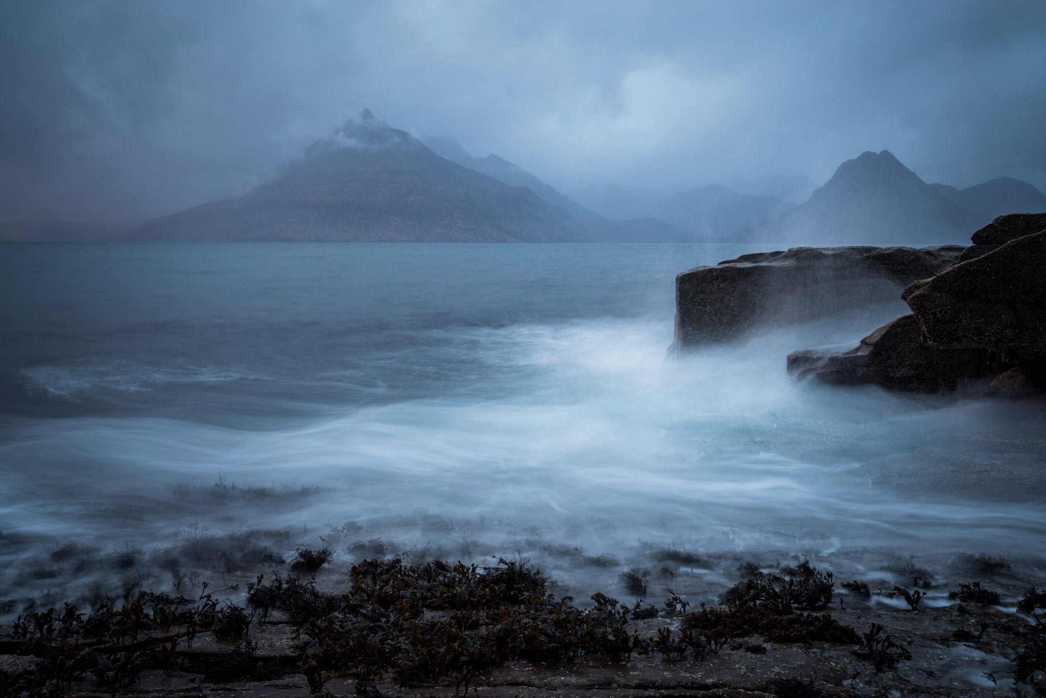 Elgol Dramatic Skies - Scotland Photography